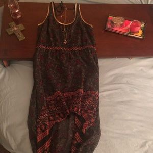 Boho dress size  M free people .